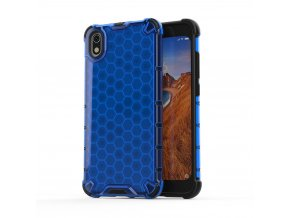 eng pl Honeycomb Case armor cover with TPU Bumper for Xiaomi Redmi 7A blue 53885 1