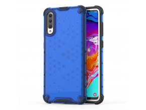 eng pl Honeycomb Case armor cover with TPU Bumper for Samsung Galaxy A70 blue 53845 1