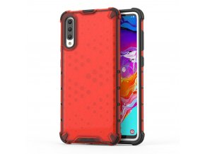eng pl Honeycomb Case armor cover with TPU Bumper for Samsung Galaxy A70 red 53847 1