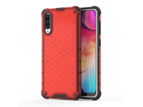 eng pl Honeycomb Case armor cover with TPU Bumper for Samsung Galaxy A50 red 53842 1