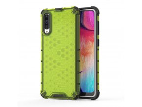 eng pl Honeycomb Case armor cover with TPU Bumper for Samsung Galaxy A50 green 53841 1