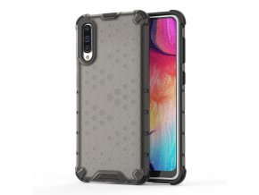 eng pl Honeycomb Case armor cover with TPU Bumper for Samsung Galaxy A50 black 53839 1