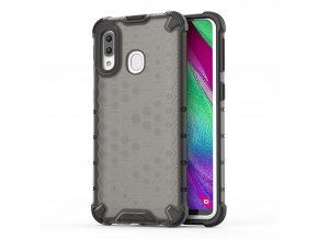 eng pl Honeycomb Case armor cover with TPU Bumper for Samsung Galaxy A40 black 53834 1