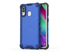 eng pl Honeycomb Case armor cover with TPU Bumper for Samsung Galaxy A40 blue 53835 1