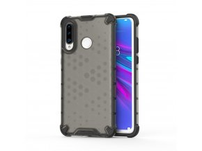 eng pl Honeycomb Case armor cover with TPU Bumper for Huawei P30 Lite black 53874 1