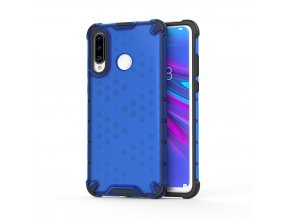 eng pl Honeycomb Case armor cover with TPU Bumper for Huawei P30 Lite blue 53875 1