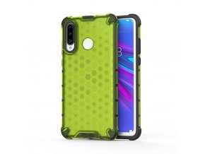 eng pl Honeycomb Case armor cover with TPU Bumper for Huawei P30 Lite green 53876 1