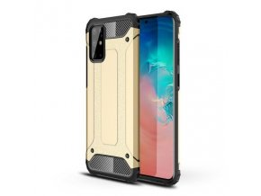 eng pl Hybrid Armor Case Tough Rugged Cover for Samsung Galaxy S20 Ultra golden 56267 1