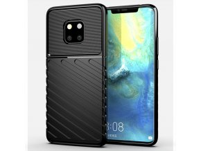 eng pl Thunder Case Flexible Tough Rugged Cover TPU Case for Huawei Mate 20 Pro black 56366 1