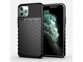eng pl Thunder Case Flexible Tough Rugged Cover TPU Case for iPhone 11 Pro black 56338 1