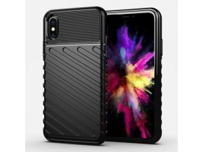 eng pl Thunder Case Flexible Tough Rugged Cover TPU Case for iPhone XS iPhone X black 56328 1