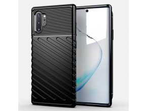 eng pl Thunder Case Flexible Tough Rugged Cover TPU Case for Samsung Galaxy Note 10 Plus black 56345 1