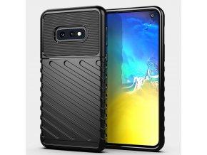 eng pl Thunder Case Flexible Tough Rugged Cover TPU Case for Samsung Galaxy S10e black 56350 1