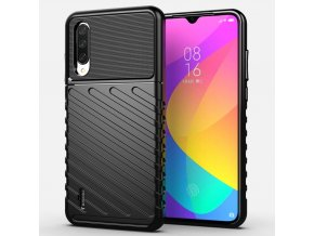 eng pl Thunder Case Flexible Tough Rugged Cover TPU Case for Xiaomi Mi 9 Lite Xiaomi Mi CC9 black 56386 1