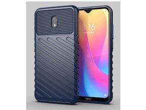 eng pl Thunder Case Flexible Tough Rugged Cover TPU Case for Xiaomi Redmi 8A blue 56381 1