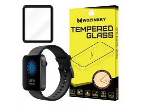 eng pl Wozinsky Full Glue Film Super Tough Screen Protector Full Coveraged with Frame Case Friendly for Xiaomi Watch black 56771 1