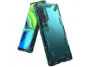 eng pl Ringke Fusion X durable PC Case with TPU Bumper for Xiaomi Mi Note 10 Mi Note 10 Pro Mi CC9 Pro green FXXI0016 57011 1