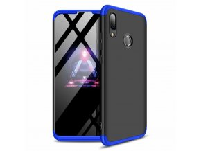 eng pl 360 Protection Front and Back Case Full Body Cover Huawei P Smart 2019 black blue 47424 1