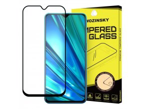 eng pl Wozinsky Tempered Glass Full Glue Super Tough Screen Protector Full Coveraged with Frame Case Friendly for Realme 5 Pro black 56706 1