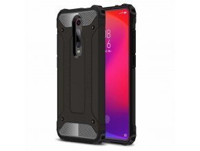 eng pl Hybrid Armor Case Tough Rugged Cover for Xiaomi Mi 9T Pro Mi 9T black 51337 1