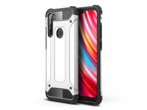 eng pl Hybrid Armor Case Tough Rugged Cover for Xiaomi Redmi Note 8T silver 55866 1