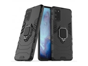 eng pl Ring Armor Case Kickstand Tough Rugged Cover for Samsung Galaxy S20 Plus black 56588 1