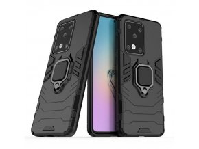 eng pl Ring Armor Case Kickstand Tough Rugged Cover for Samsung Galaxy S20 Ultra black 56589 1