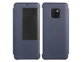 eng pl Sleep Case Bookcase Type Case with Smart Window for Huawei Mate 20 Pro blue 56794 1