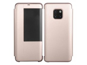 eng pl Sleep Case Bookcase Type Case with Smart Window for Huawei Mate 20 Pro pink 56795 1