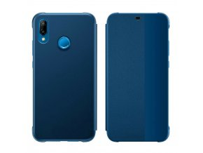 eng pl Sleep Case Bookcase Type Case with Smart Window for Huawei P20 Lite blue 56776 1