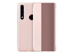 eng pl Sleep Case Bookcase Type Case with Smart Window for Huawei P30 Lite pink 56786 1