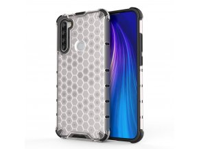 eng pl Honeycomb Case armor cover with TPU Bumper for Xiaomi Redmi Note 8T transparent 56229 1