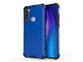 eng pl Honeycomb Case armor cover with TPU Bumper for Xiaomi Redmi Note 8T blue 56227 1