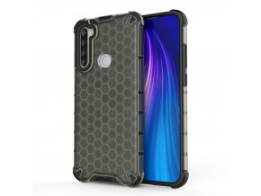eng pl Honeycomb Case armor cover with TPU Bumper for Xiaomi Redmi Note 8T black 56228 1 (1)