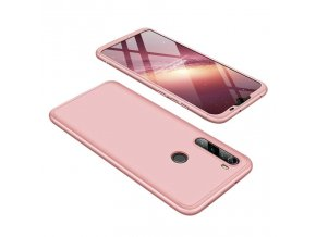 eng pl GKK 360 Protection Case Front and Back Case Full Body Cover Xiaomi Redmi Note 8T pink 55871 1