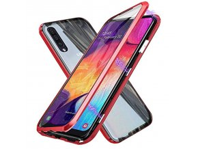 360 Protective Magnetic case For samsung a50 2019 Double sided glass on the For samsung Galaxy