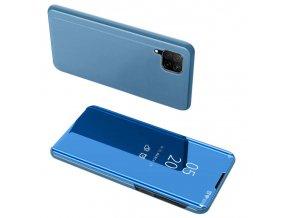 pol pl Clear View Case futeral etui z klapka Huawei P40 Lite Nova 7i Nova 6 SE niebieski 59618 1