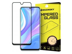 eng pl Wozinsky Tempered Glass Full Glue Super Tough Screen Protector Full Coveraged with Frame Case Friendly for Huawei P40 Lite Nova 7i Nova 6 SE black 59202 1