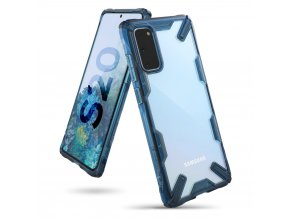 eng pl Ringke Fusion X durable PC Case with TPU Bumper for Samsung Galaxy S20 blue FUSG0044 57070 1