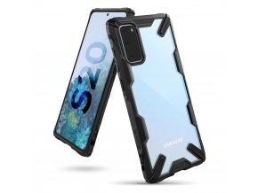 eng pl Ringke Fusion X durable PC Case with TPU Bumper for Samsung Galaxy S20 black FUSG0041 57069 1