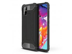 eng pl Hybrid Armor Case Tough Rugged Cover for Samsung Galaxy A71 black 58476 1
