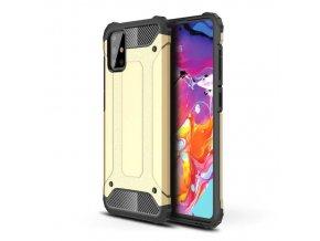 eng pl Hybrid Armor Case Tough Rugged Cover for Samsung Galaxy A71 golden 58478 1