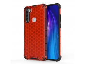 eng pl Honeycomb Case armor cover with TPU Bumper for Xiaomi Redmi Note 8T red 56226 1