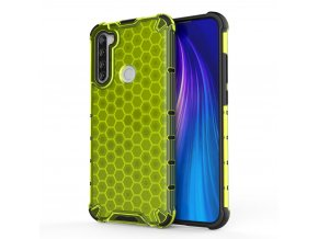 eng pl Honeycomb Case armor cover with TPU Bumper for Xiaomi Redmi Note 8T green 56225 1