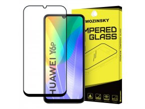 eng pl Wozinsky Tempered Glass Full Glue Super Tough Screen Protector Full Coveraged with Frame Case Friendly for Huawei Y6p black 60804 1