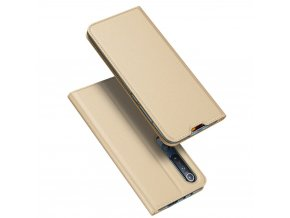 eng pl DUX DUCIS Skin Pro Bookcase type case for Xiaomi Mi 10 Pro Xiaomi Mi 10 golden 58551 1