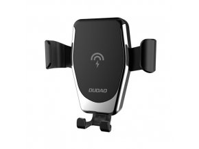 eng pm Dudao Gravity Wireless Charger 10W Car Mount Phone Bracket Air Vent Holder Qi Charger black F3Plus black 55651 1