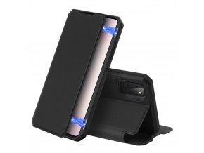 pol pl DUX DUCIS Skin X kabura etui pokrowiec z klapka Samsung Galaxy Note 10 Lite czarny 60092 1