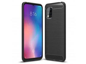 eng pl Carbon Case Flexible Cover TPU Case for Xiaomi Mi 10 Lite black 60845 1