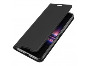 eng pl DUX DUCIS Skin Pro Bookcase type case for Sony Xperia 1 II black 60096 4
